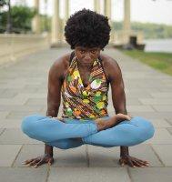 Picture of Fatima Adamu: Yoga Instructor